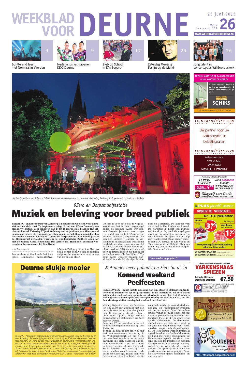 Decoratie raamdecoratie deurne : ISSUU - Weekblad voor Deurne wk26 by Das Publishers!