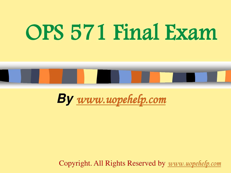 ops hc 571 university of phoenix