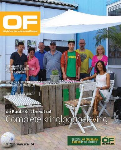 OF | Ondernemend Friesland | magazine | editie 4 | juli | 2015