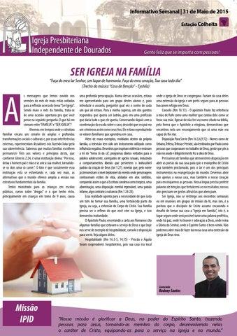 Boletim Informativo 31 de maio