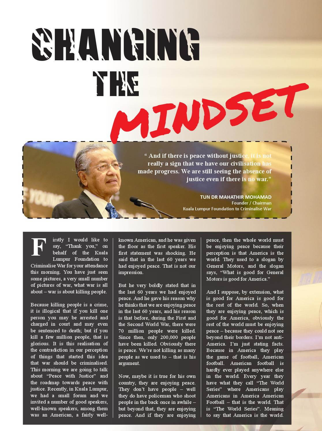 Tun Dr Mahathir Mohamad by muhamad fairuz - issuu