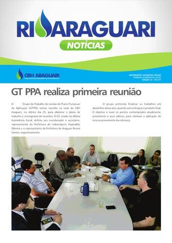 Informativo online - Rio Araguari Notícias - 12ª edição