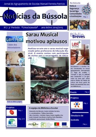 Capa do jornal Notícias da Bússola