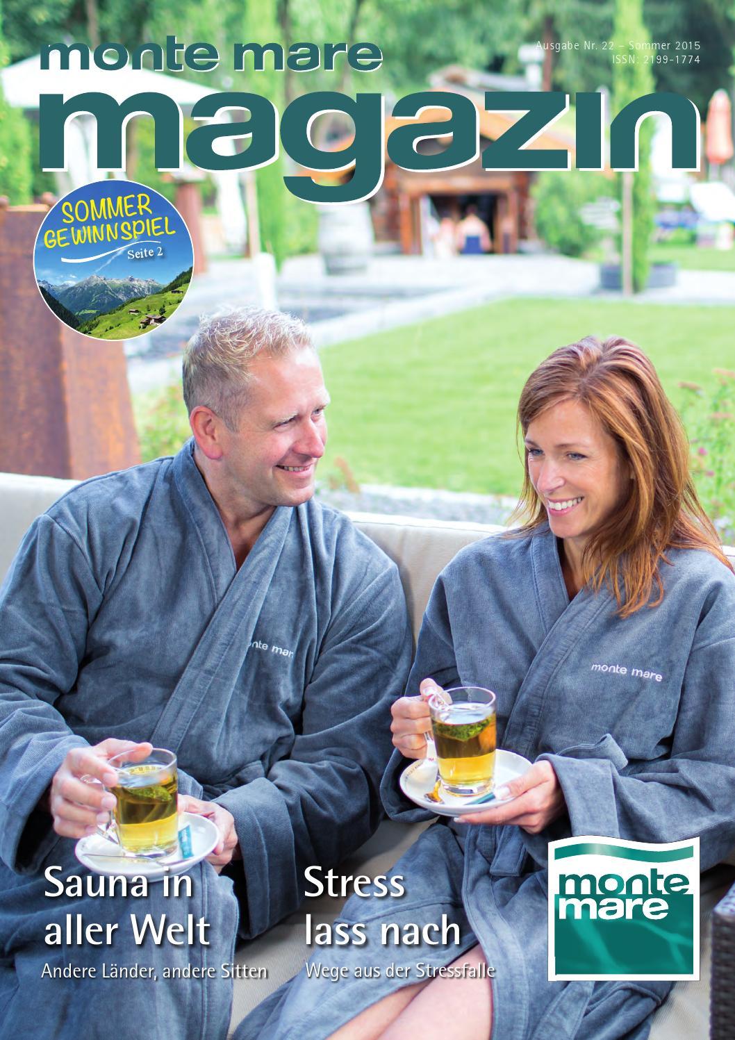 monte mare Magazin Sommer 2015