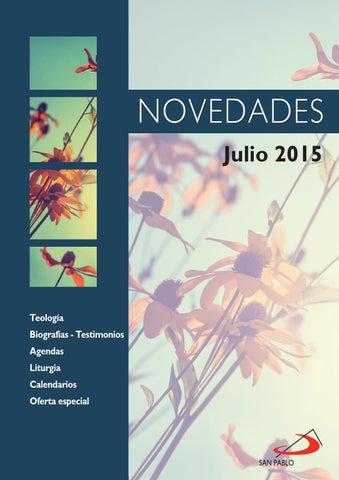 Boletín de Novedades de julio de 2015