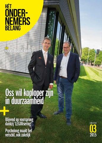 Het Ondernemersbelang Noord-Brabant Noord 3-2015