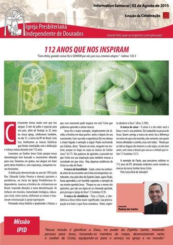 Boletim Informativo do dia 02 de agosto de 2015