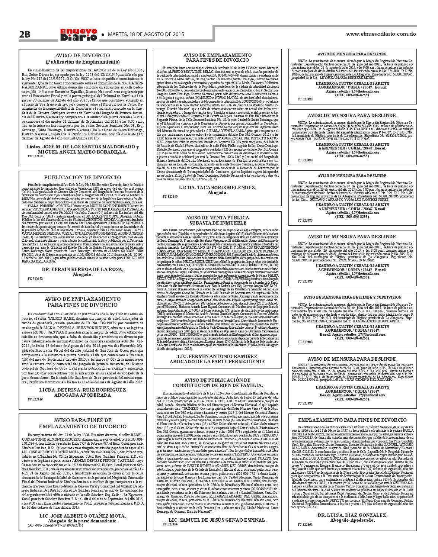 11 de la ley 8 1997 de 26: