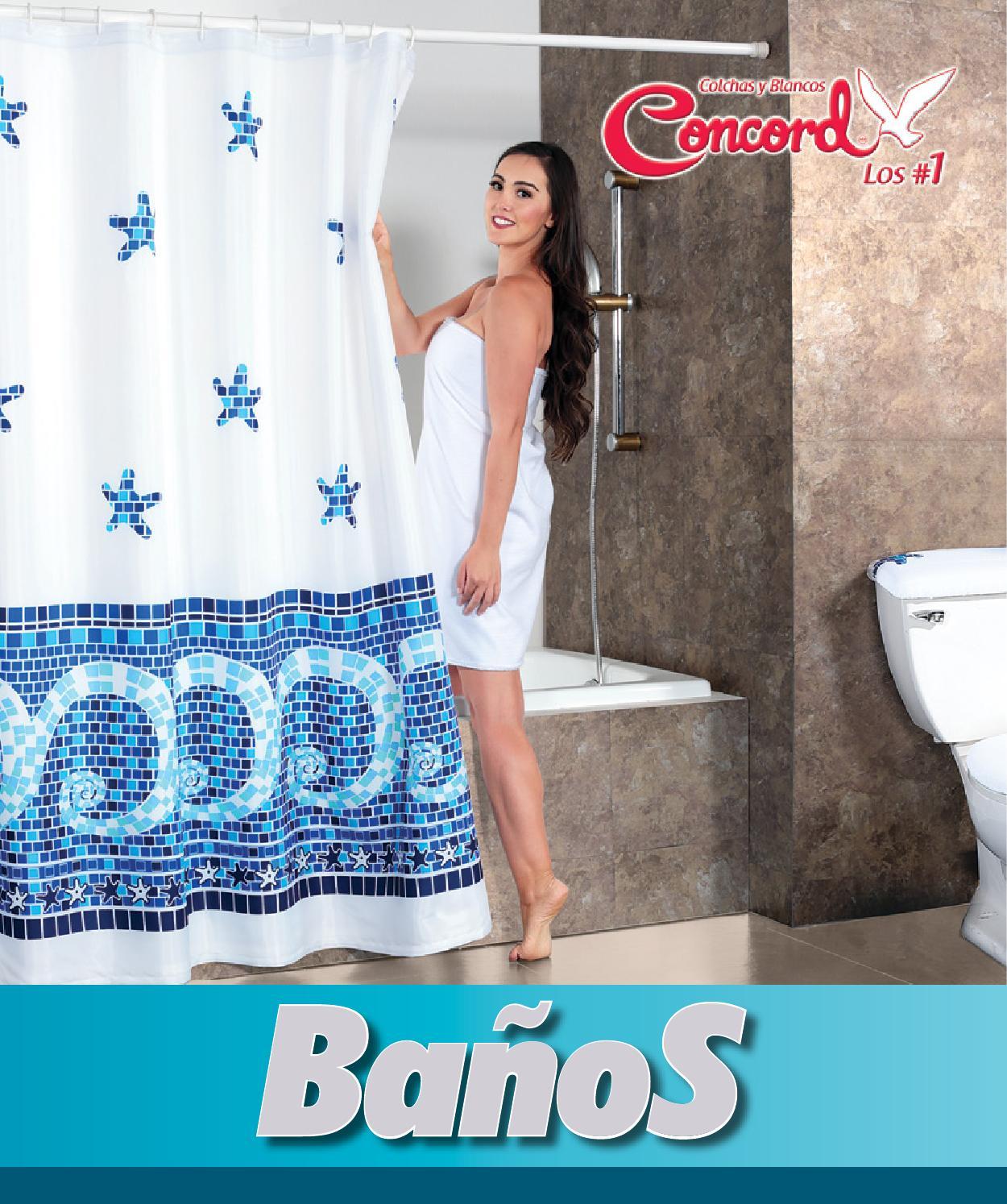 Cortinas De Baño Concord:page_1jpg