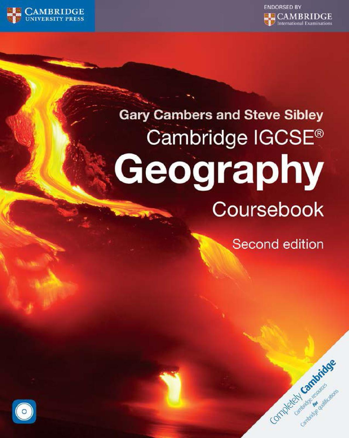 Preview Cambridge IGCSE® Geography Coursebook Second Edition