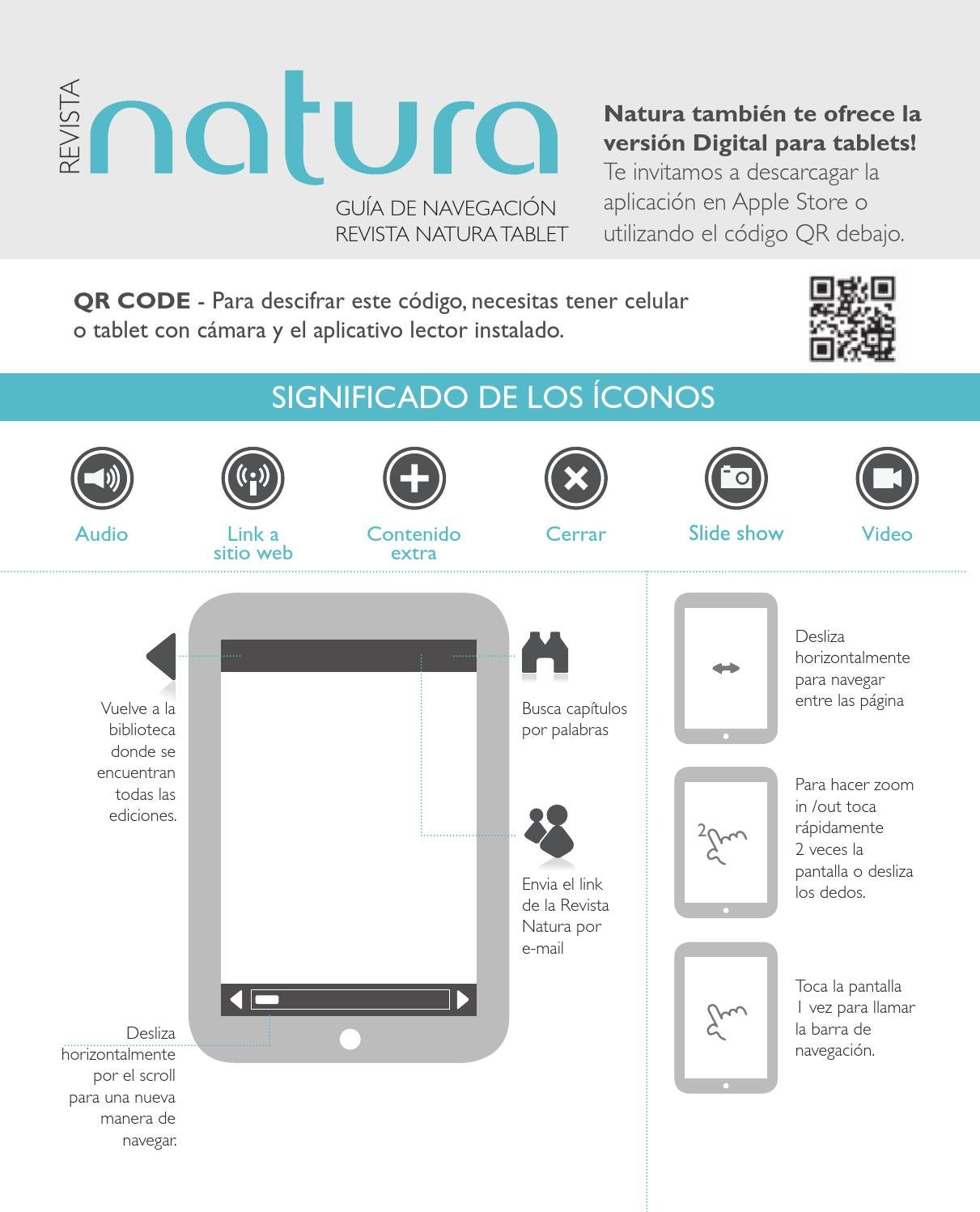Page for Natura catalogo online