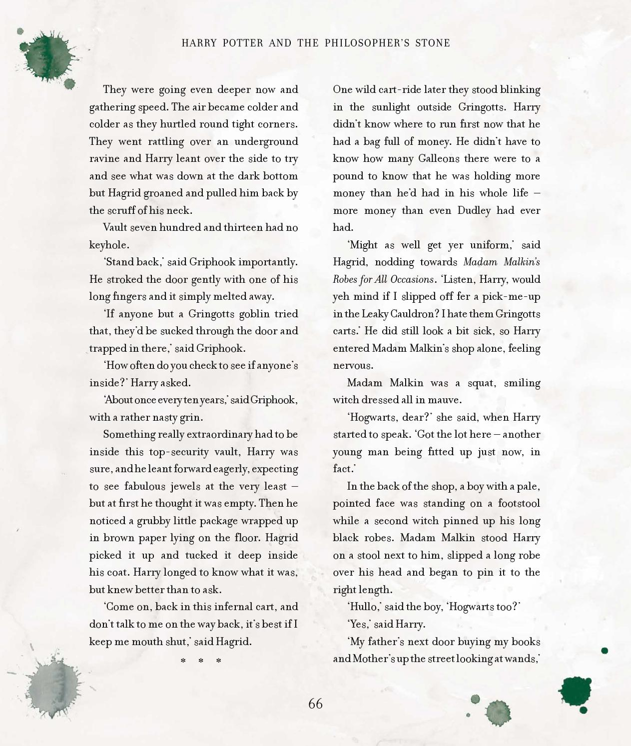 Harry Potter Book Extract ~ Issuu harry potter and the philosopher s stone by j k