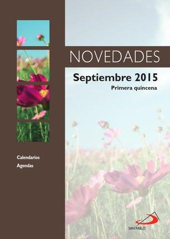 Boletín de Novedades de Septiembre 2015 (primera quincena)
