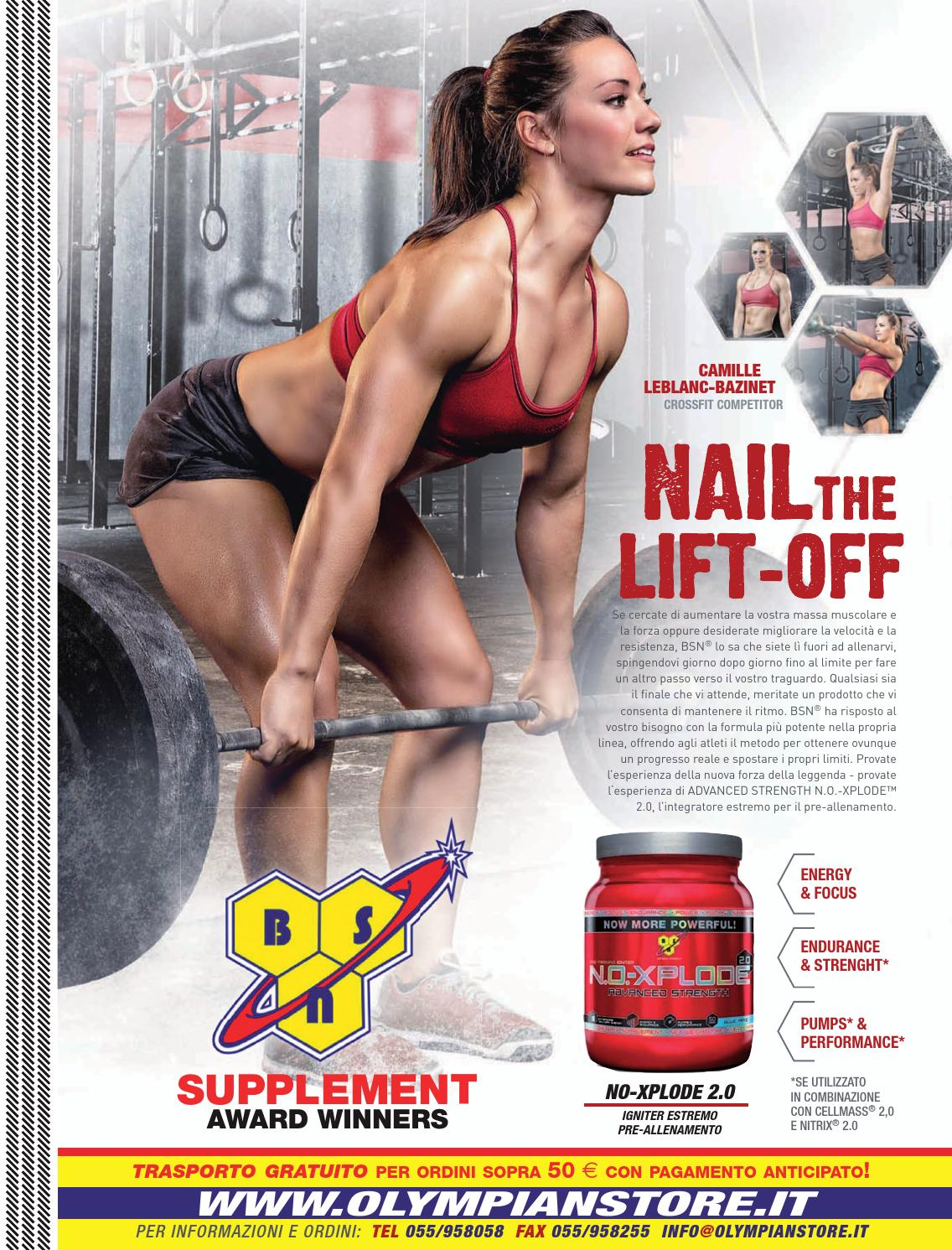 Muscle & Performance n.1 supplemento di Olympian's News n.153