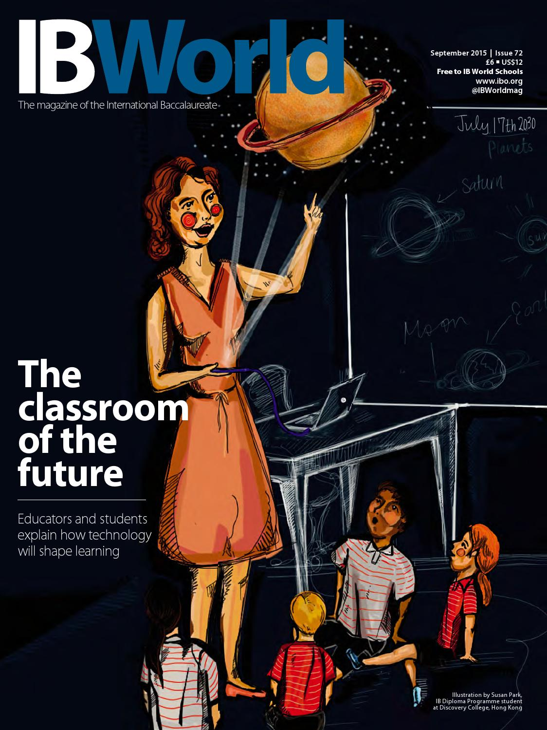 PGCE (International) Times - Magazine cover