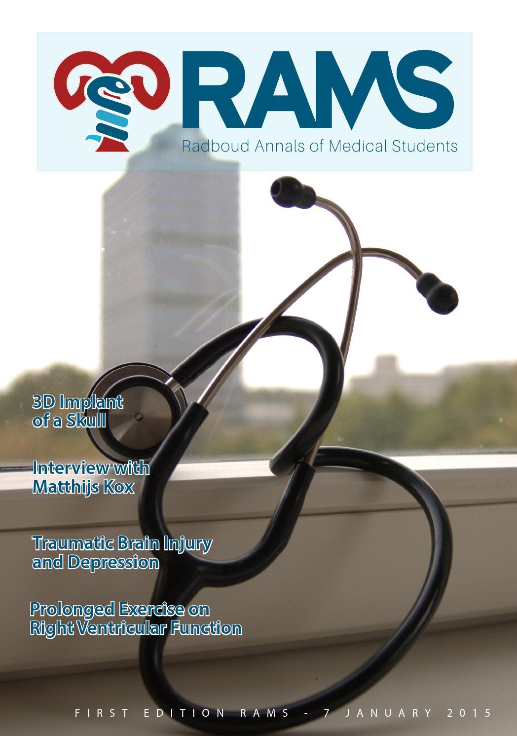 Rams: Radboud Annals of Medical Students (nr 1, 2015)