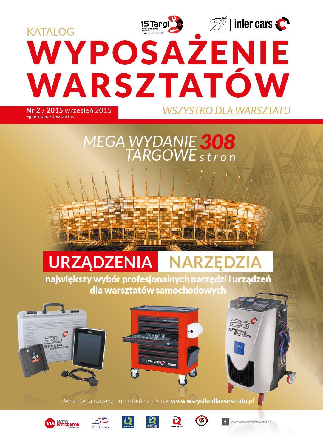 ISSUU - Katalog Wyposażenia Warsztatów 2015 / 2 by ...