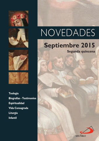Boletín de Novedades de Septiembre 2015 (segunda quincena)