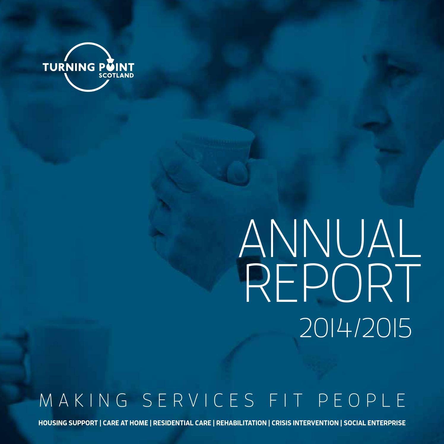 Turning Point Scotland annual report 2014\/2015 by Turning Point ...