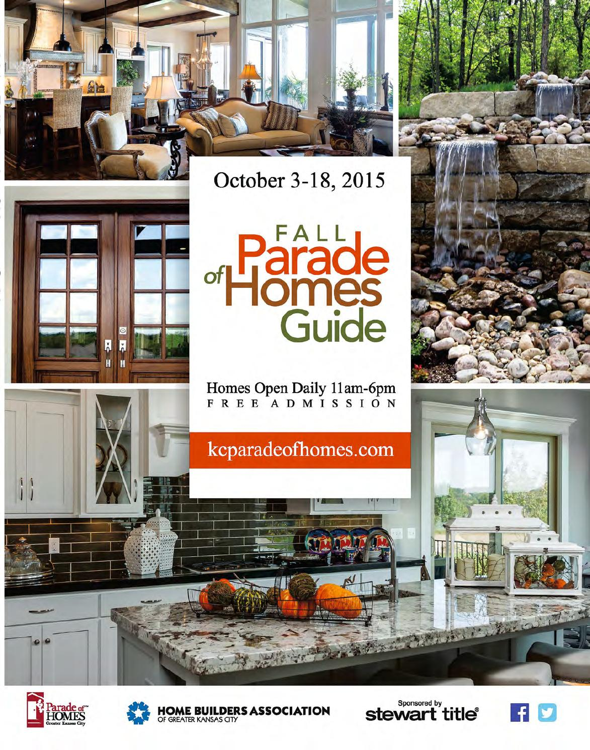 2015 Fall Parade Of Homes Guide Of Greater Kansas City By
