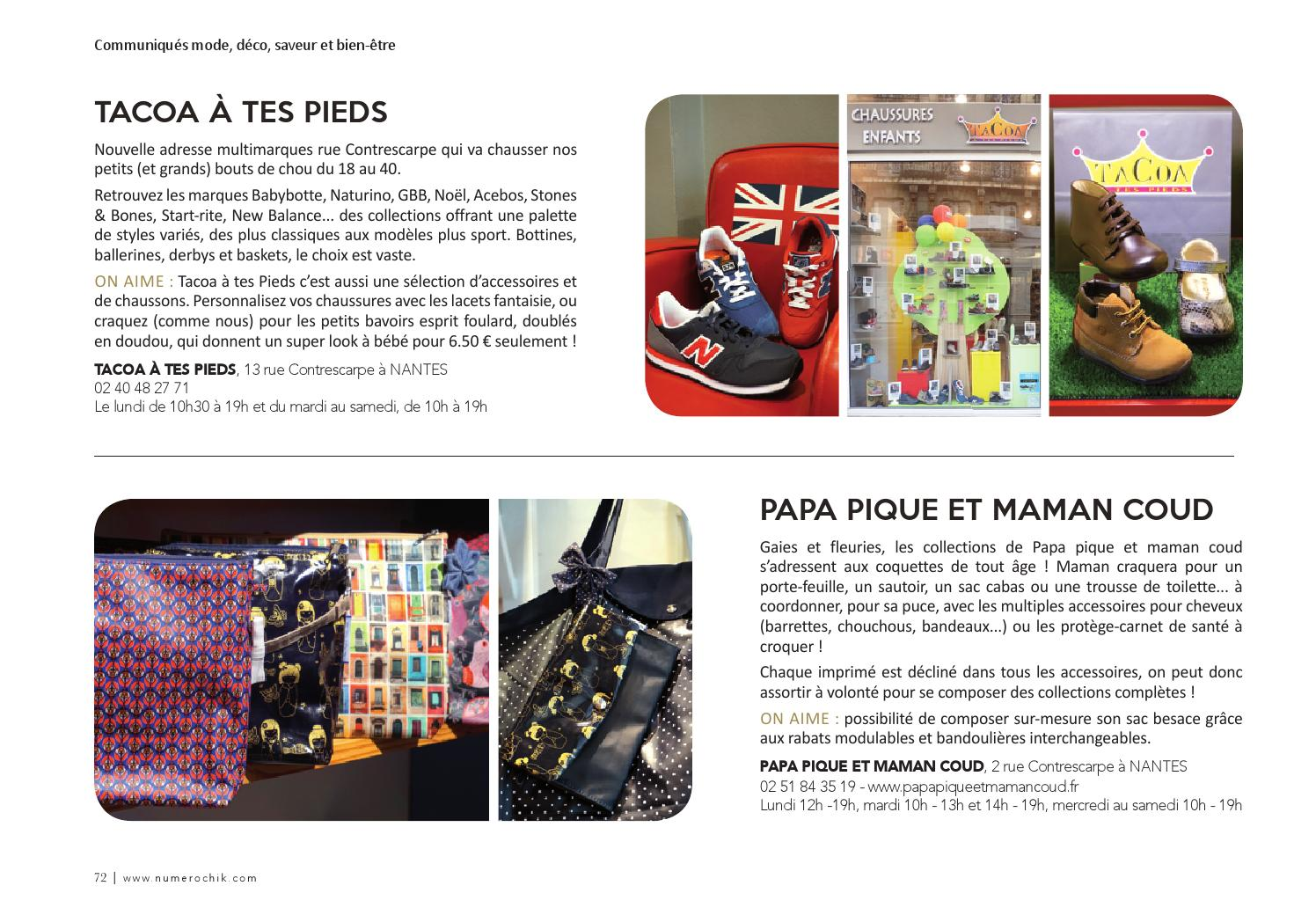 Issuu num ro chik magazine mode et tendances nantes for Architecture et tendances magazine
