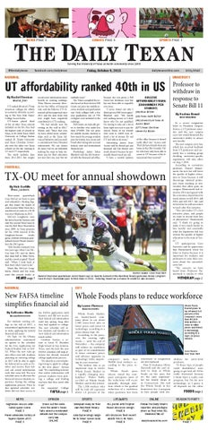 Issue for October 9, 2015