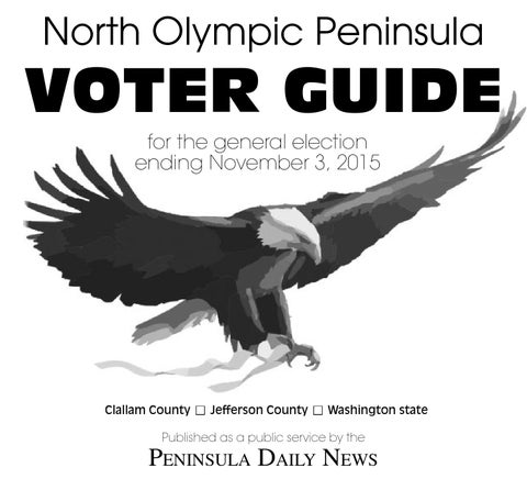 North Olympic Peninsula Voter Guide
