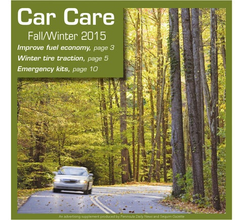 Car Care Fall/Winter 2015
