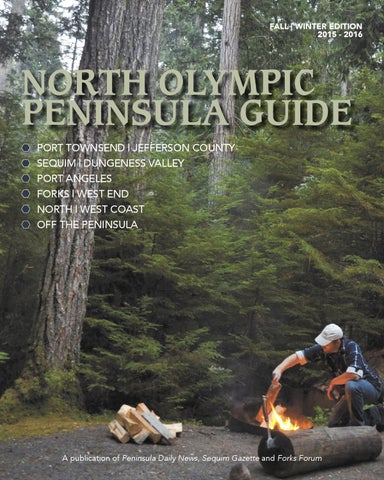 North Olympic Peninsula Guide, Fall-Winter 2015-2016