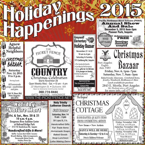 Holiday Happenings 2015