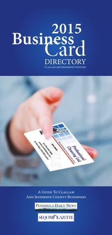 2015 Business Card Directory