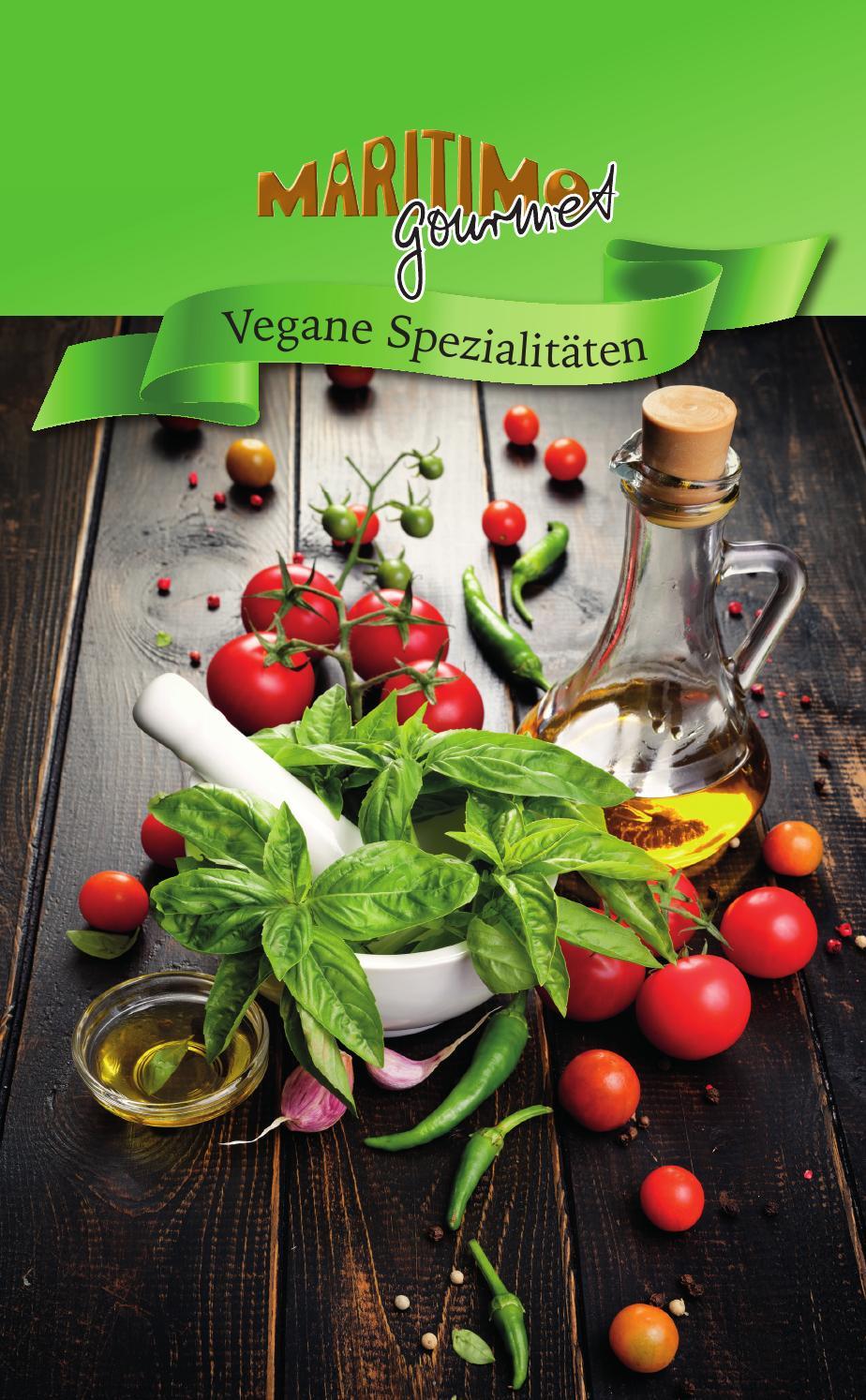 maritimo Gourmet - Vegane Spezialitäten - maritimo Oer-Erkenschwick
