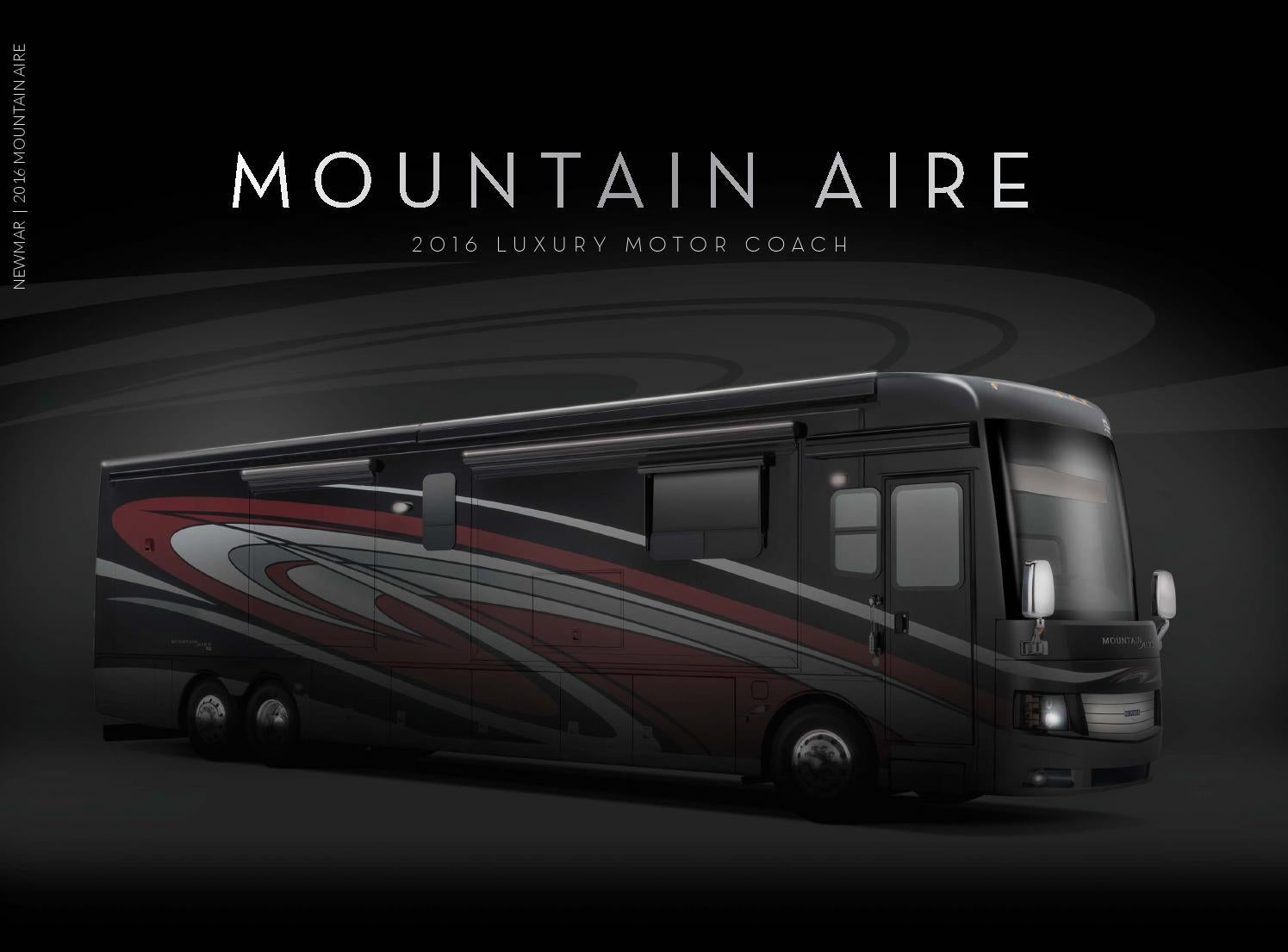 2016 newmar mountain aire by newmar corp issuu for Mountain aire