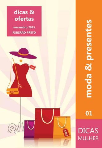 Dicas Mulher Semanário 01 - Moda & Presentes