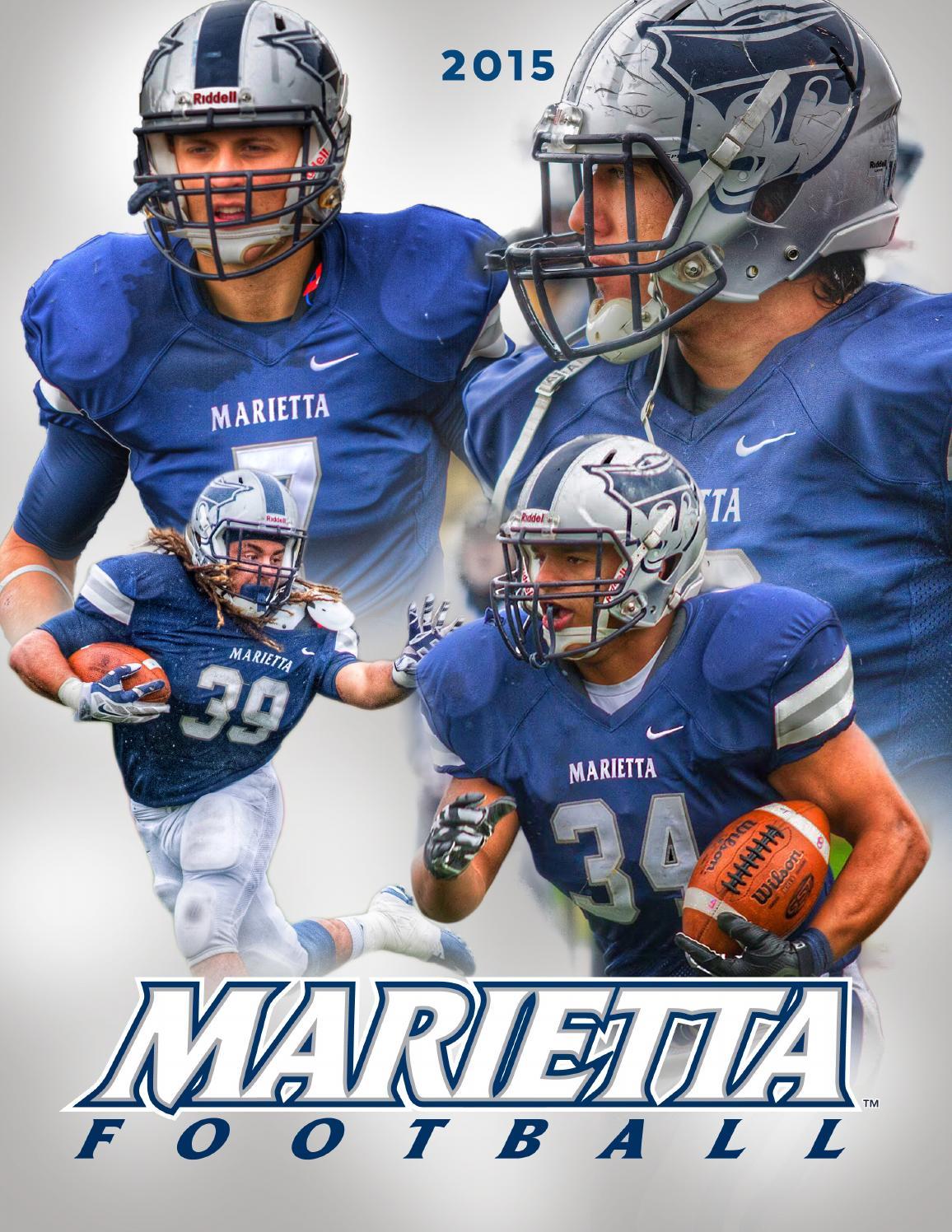 Football Recruiting Brochure by Marietta College