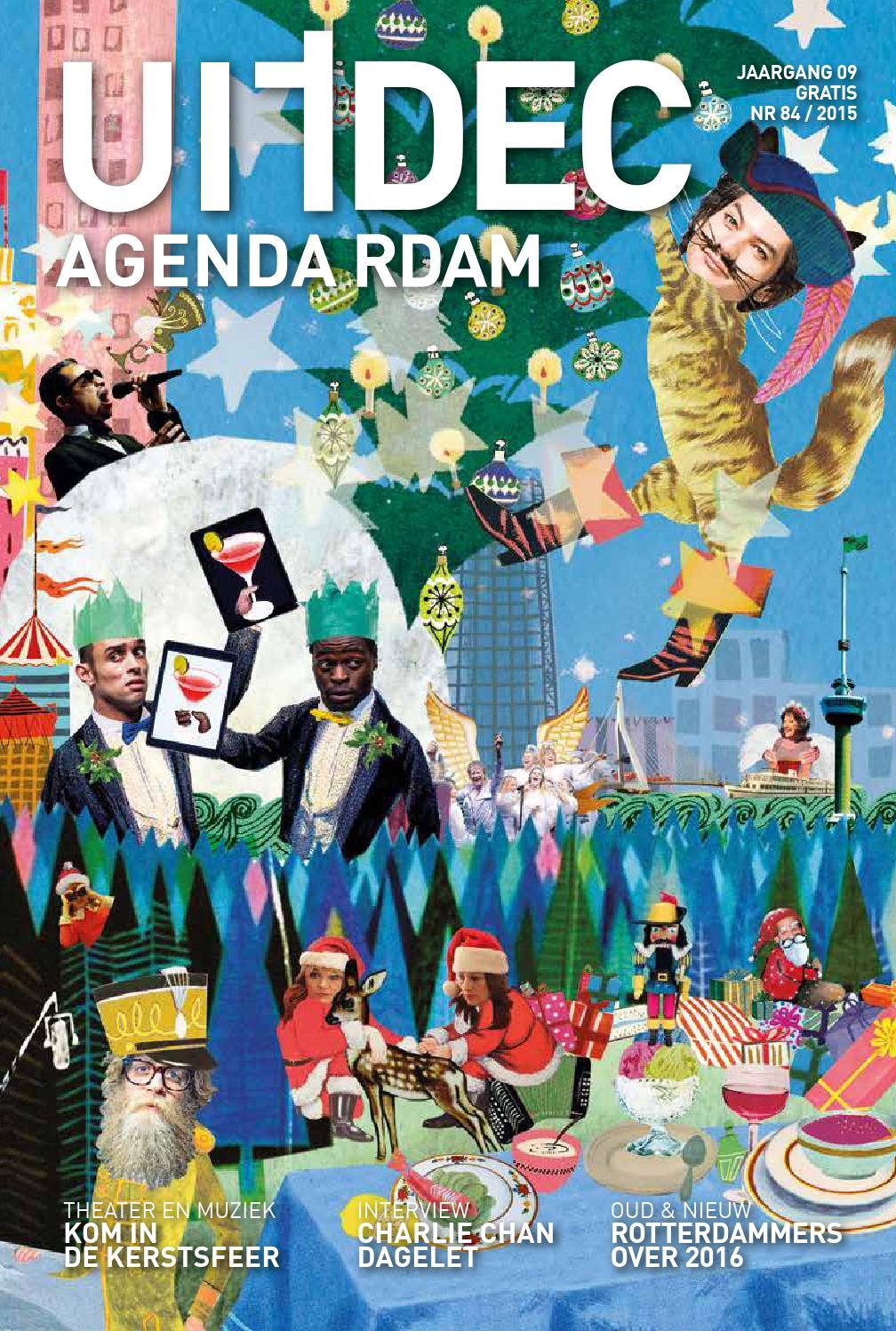 Uitagenda magazine december 2015 by rotterdam festivals for Uit agenda rotterdam