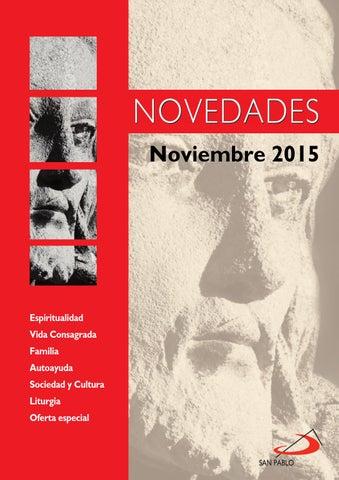 Boletín de Novedades Editorial San Pablo España - Noviembre 2015