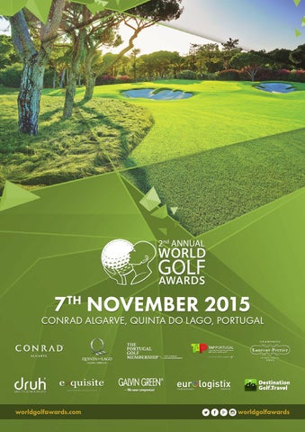 World Golf Awards 2015 Event Programme