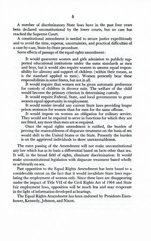 A Matter of Simple Justice - Report of the President's Task Force on Women's Rights, Page 14