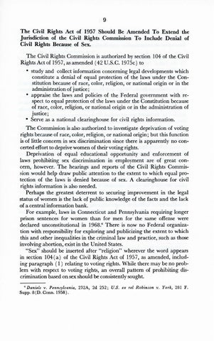 A Matter of Simple Justice - Report of the President's Task Force on Women's Rights, Page 18