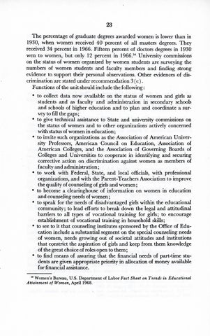A Matter of Simple Justice - Report of the President's Task Force on Women's Rights, Page 32