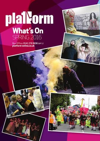 Platform Jan - May 2016 Season -- Platform Glasgow