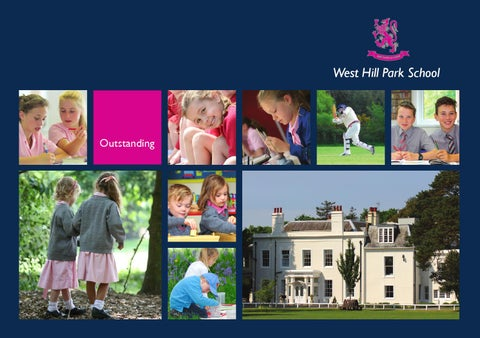 West Hill Park Prospectus -- Sitewrights