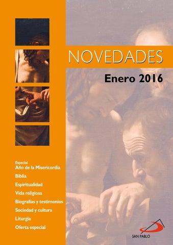 Boletín de Novedades Editorial San Pablo España - Enero 2016