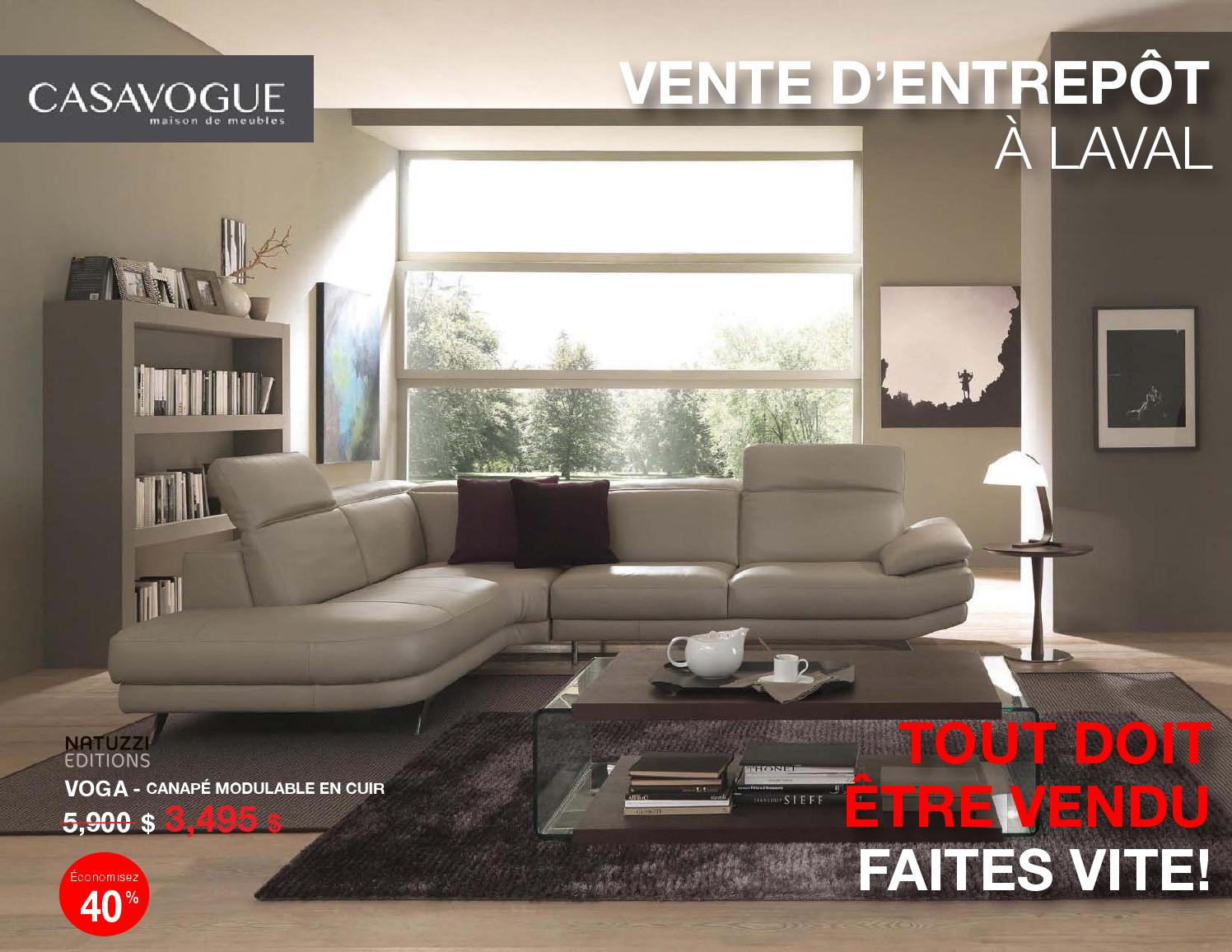 Ameublement casa vogue laval 20170727094428 for Entrepot de meuble montreal