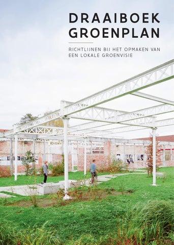 Draaiboek groenplan : richtlijnen bij het opmaken van lokale groenvisie