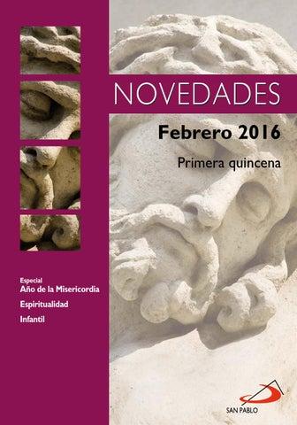 Boletín de Novedades Editorial San Pablo España - Febrero 2016