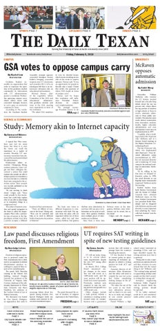 Issue for February 5, 2016