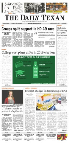 Issue for February 8, 2016