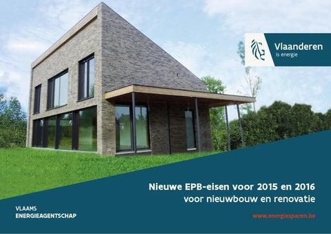 Nieuwe EPB-eisen voor 2015 en 2016